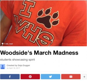 Woodside's March Madness