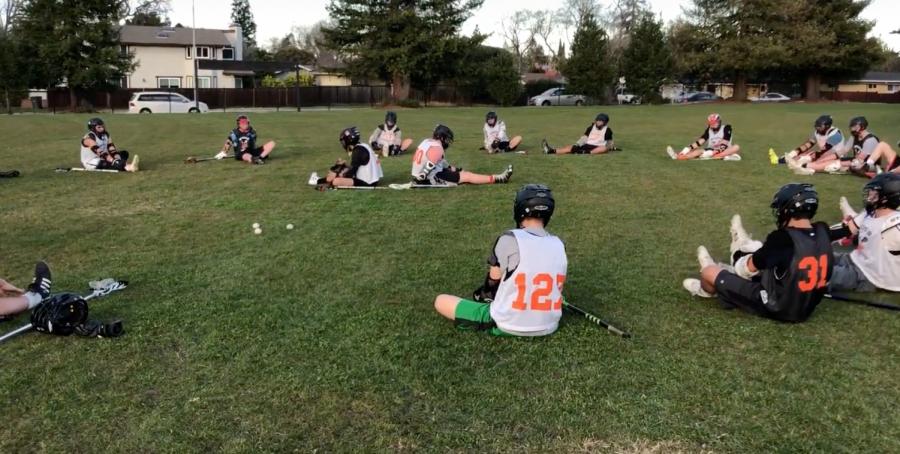 Boys Varsity Lacrosse Team 2018