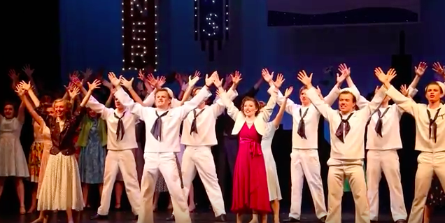 "Woodside Goes ""On the Town"""