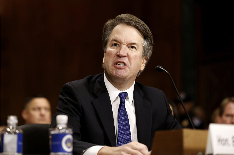 Judge Brett Kavanaugh during a Senate hearing