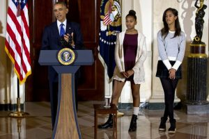 Bush Twins write send-off letter to Obama Sisters