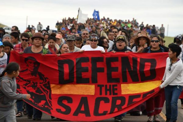 DAPL Continues Despite Protests