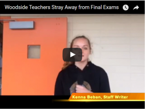 Woodside Teachers Straying Away from Final Exams