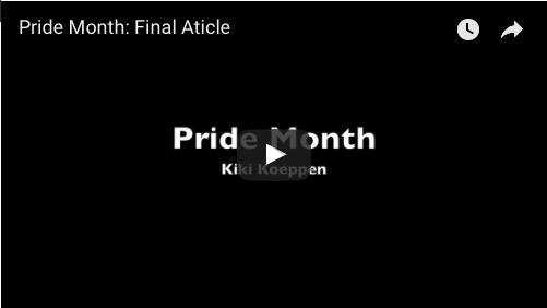 Pride Month pride