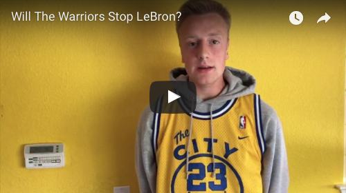 Will Golden State take down LeBron?