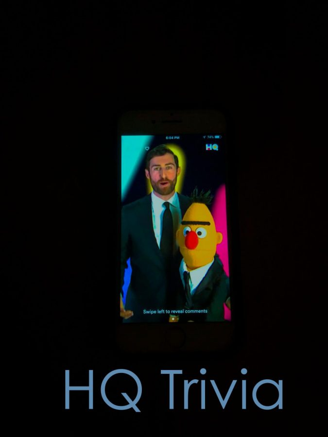 HQ Trivia starts with its host, Scott Rogowsky (and a special guest!)