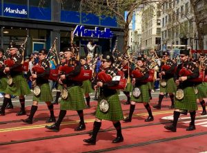 Students From Bay Area Attend San Francisco St. Patrick's Day Festival