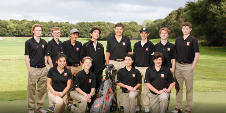 Woodside Golf Team