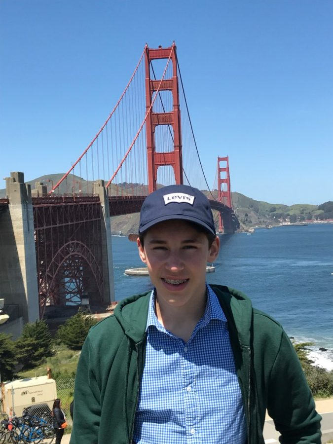 French exchange student Ben is excited to explore the Bay Area.