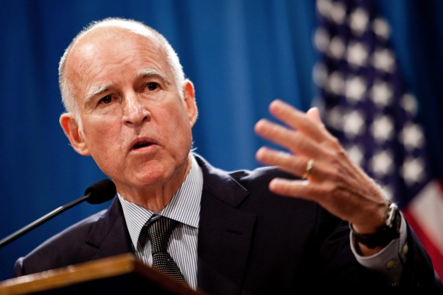Jerry Brown is California's current governor.