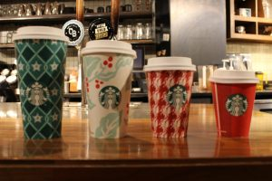 Christmas Is Here, and So Are Starbucks Holiday Cups
