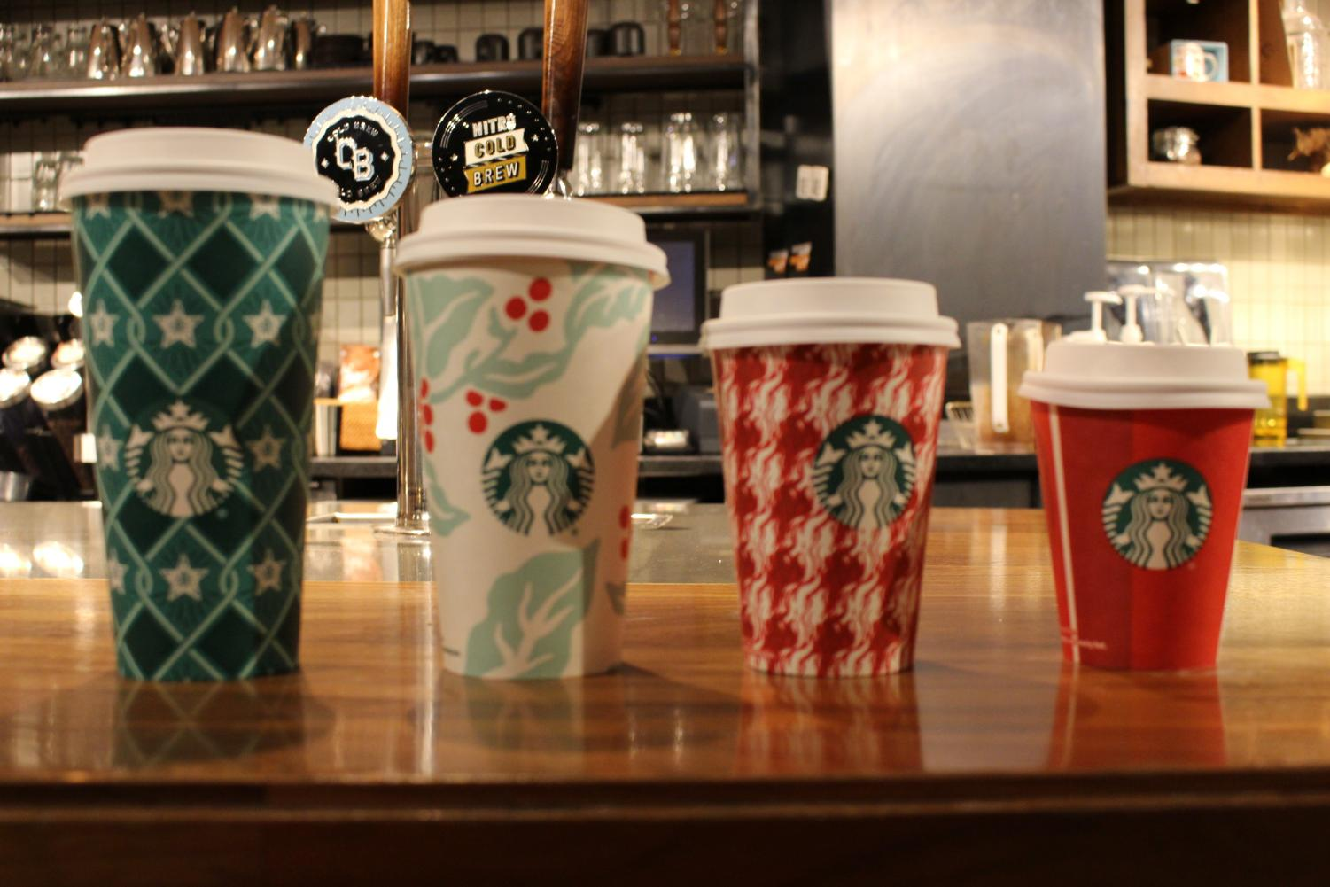 Here are some of Starbucks's new holiday cup designs for 2018.