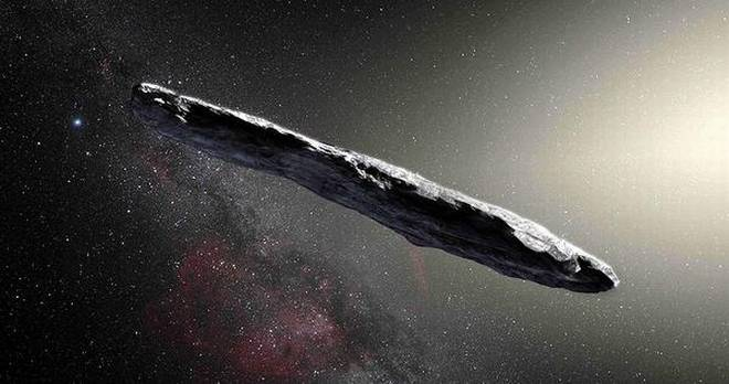 The asteroid 'Oumuamua was subject to lots of theories about it speedy exit out of the Solar System in October 2017, including one of the asteroid being of