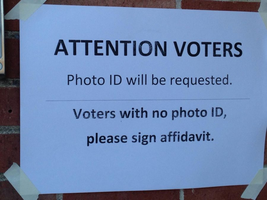 Stricter identification laws hindered a number of voters from casting ballots.