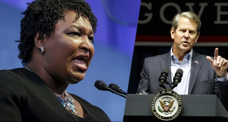 Georgia%27s+Governor%27s+race+is+neck-and-neck+between+Stacey+Abrams+and+Bryan+Kemp.