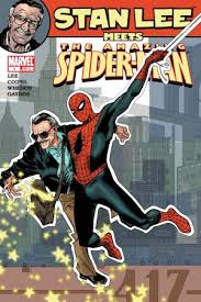One of the many comic books Stan Lee has written