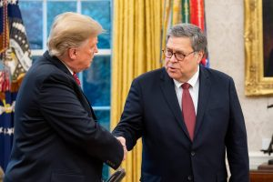President Trump congratulates Attorney General Barr on his nomination and confirmation.