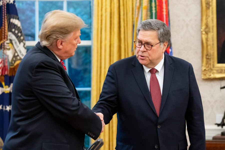 President+Trump+congratulates+Attorney+General+Barr+on+his+nomination+and+confirmation.