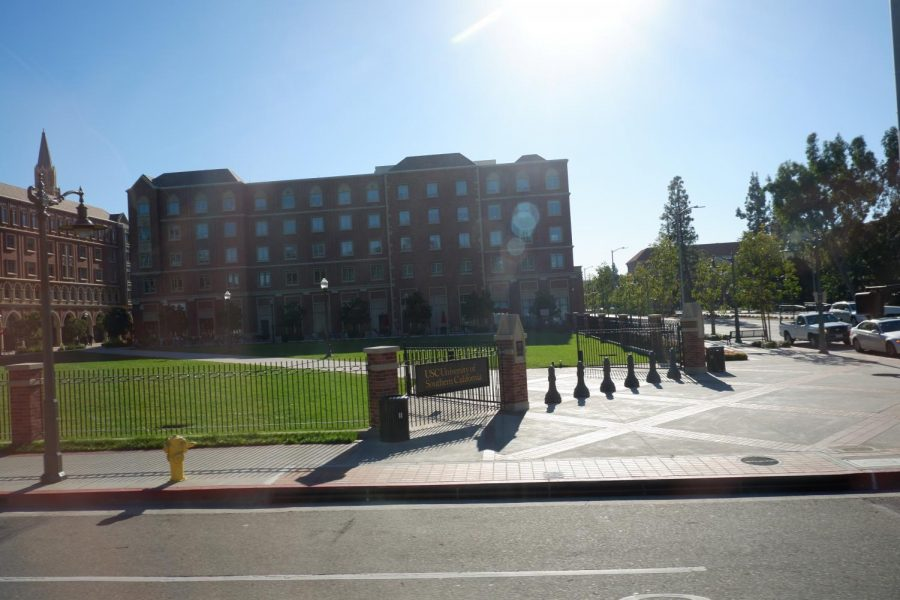 The final college that students visited on the trip was University of Southern California.