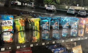 Which Woodside Vending Machine Snack are You?