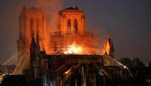 Devastating Fire Damages Notre Dame Cathedral