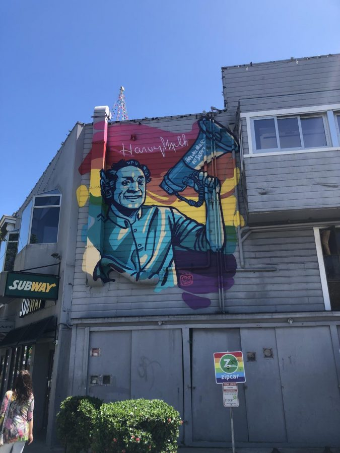 Mural in The Castro District, San Francisco