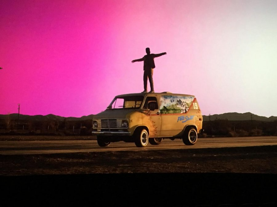Khalid released his sophomore album Free Spirit on April 5, 2019. (This is visual from the film, not the album cover art.)