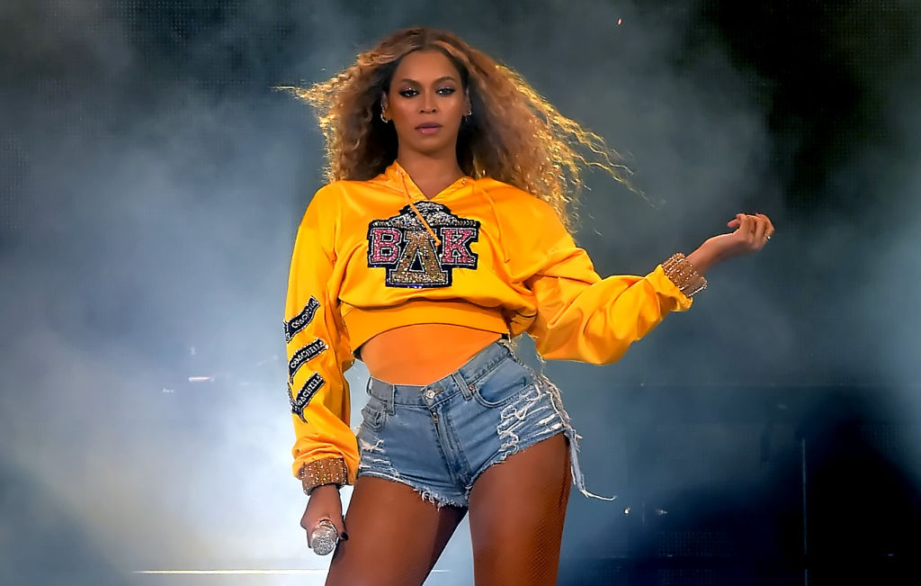 Weekend One: Beyoncé performs at Coachella Valley Music And Arts Festival at the Empire Polo Field in California.