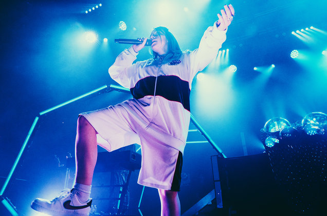 Billie Eilish performs at Brooklyn Steel in Brooklyn, New York. (Nov. 5, 2018)
