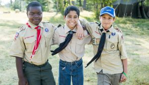 The Boy Scouts forms one popular youth group that encourages its members to volunteer.