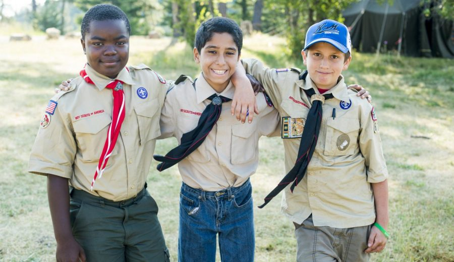 The+Boy+Scouts+forms+one+popular+youth+group+that+encourages+its+members+to+volunteer.