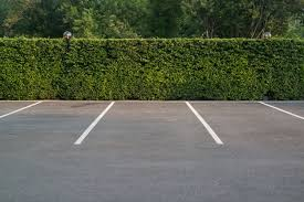 Parking spaces.