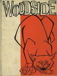 In 1969, Woodside's yearbook cover was much simpler than it is today.