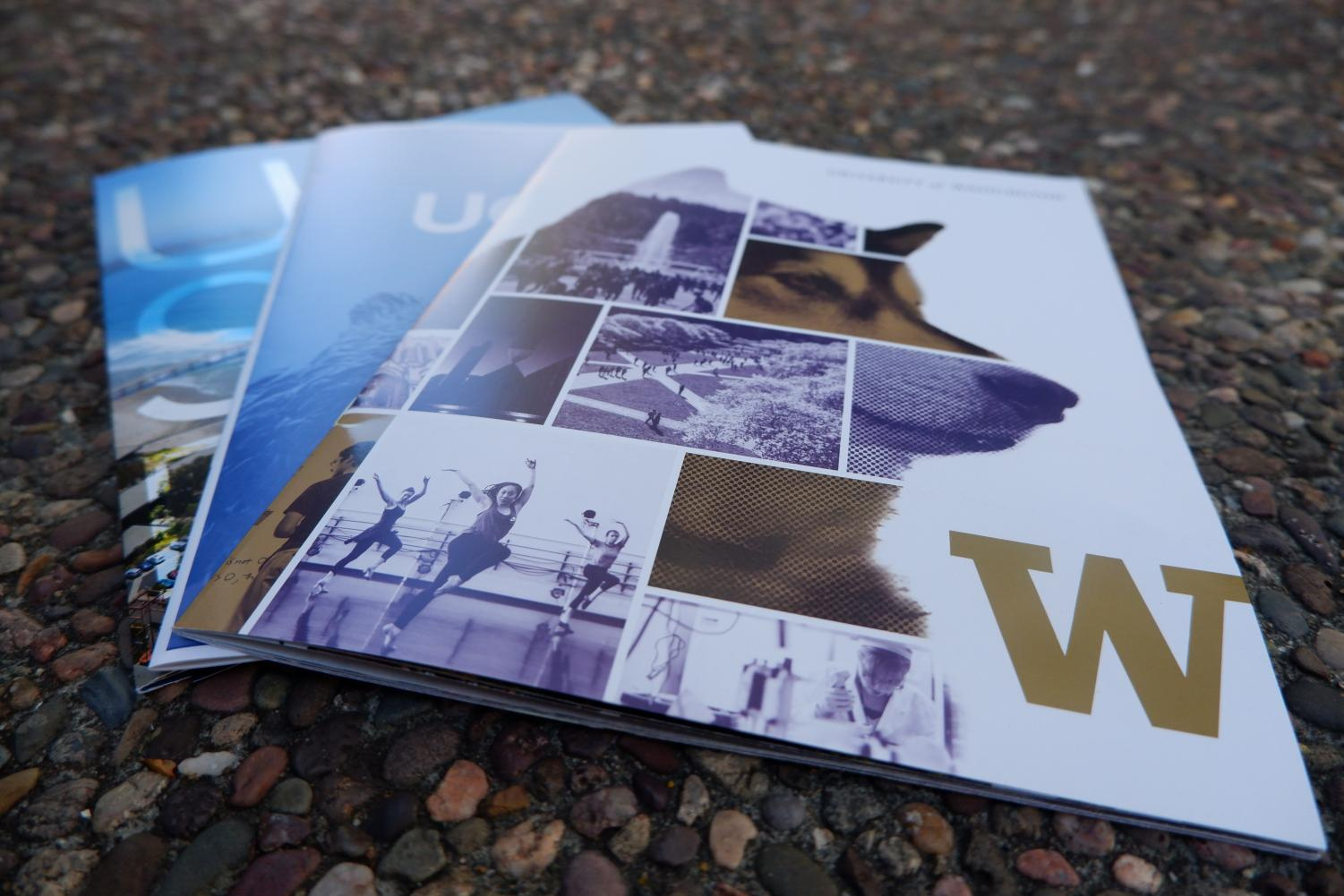 Visiting colleges such as the University of Washington, the University of California, Los Angeles, and the University of California, San Diego handed out informational brochures to Woodside students.