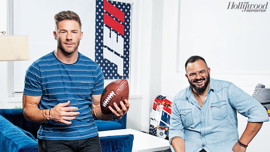 Julian Edelman and Assaf Swissa recently started a film production company, Coast Productions.