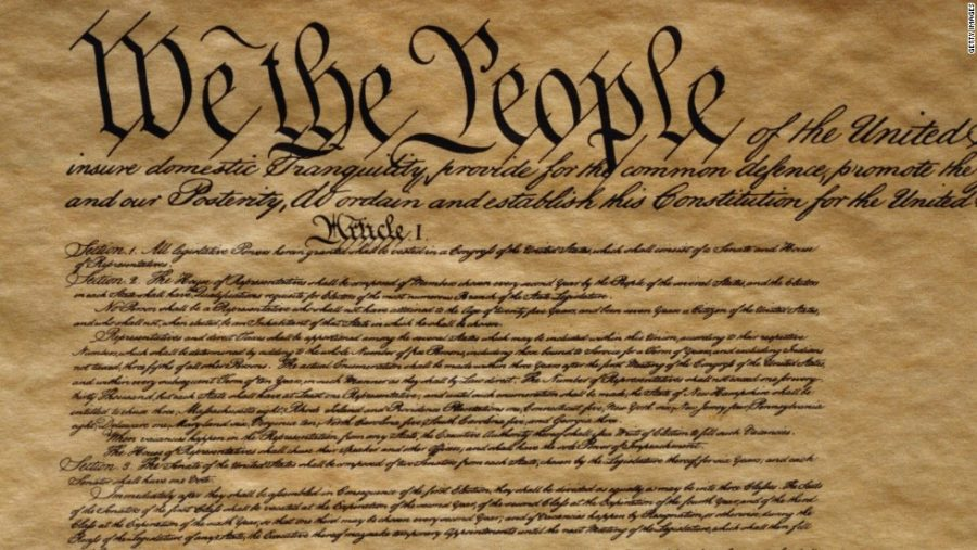 The+U.S.+Constitution+serves+as+the+guideline+for+most+of+our+current+political+procedures.