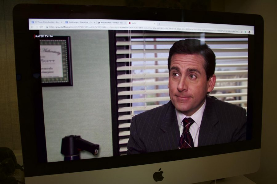 Steve Carell stars as Michael Scott in the show