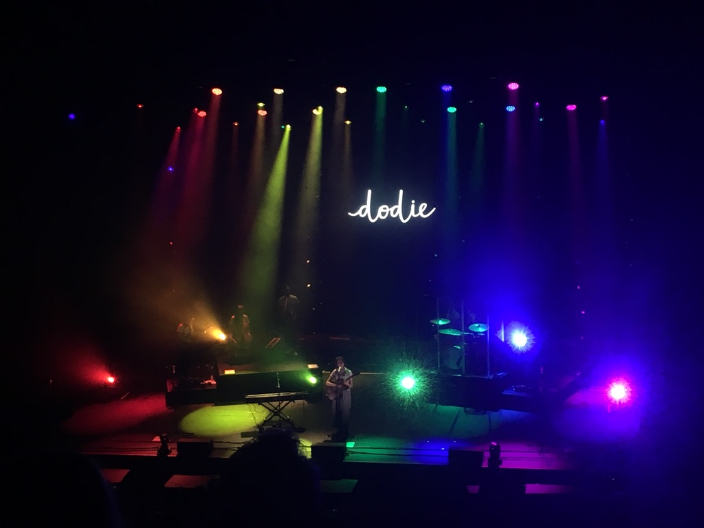 The audience cheered especially loud for Dodie during her performance of