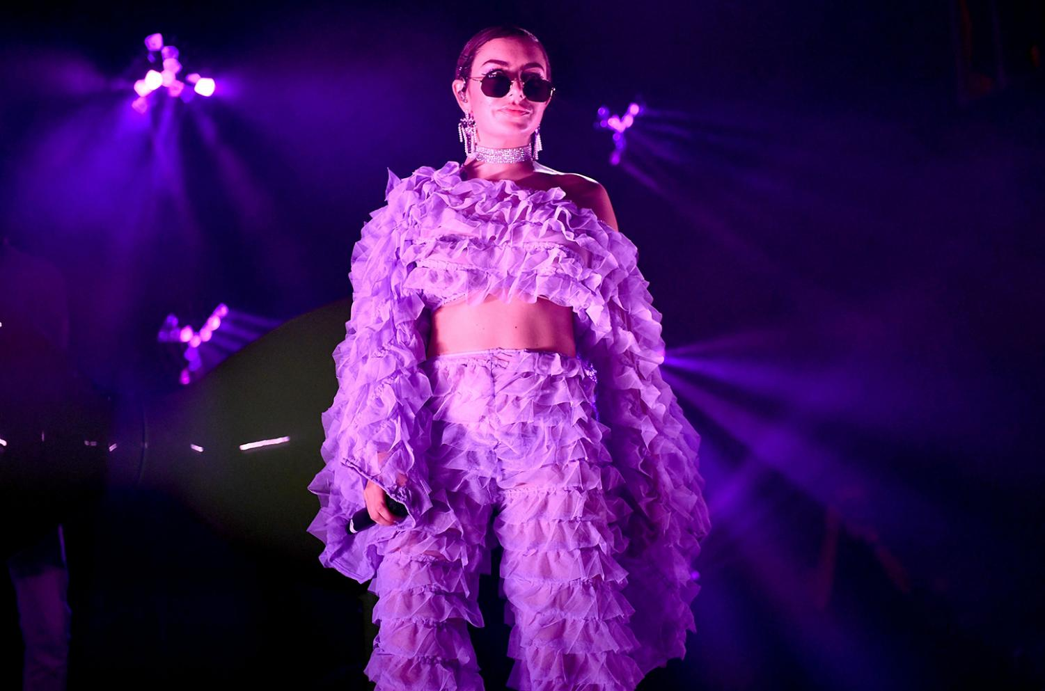 Charli XCX performs songs from her collaboration-heavy mixtape