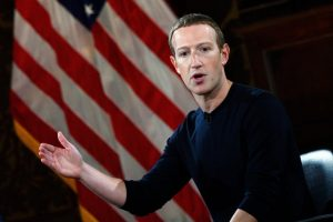 Facebook owner Mark Zuckerburg discusses freedom of speech in court.