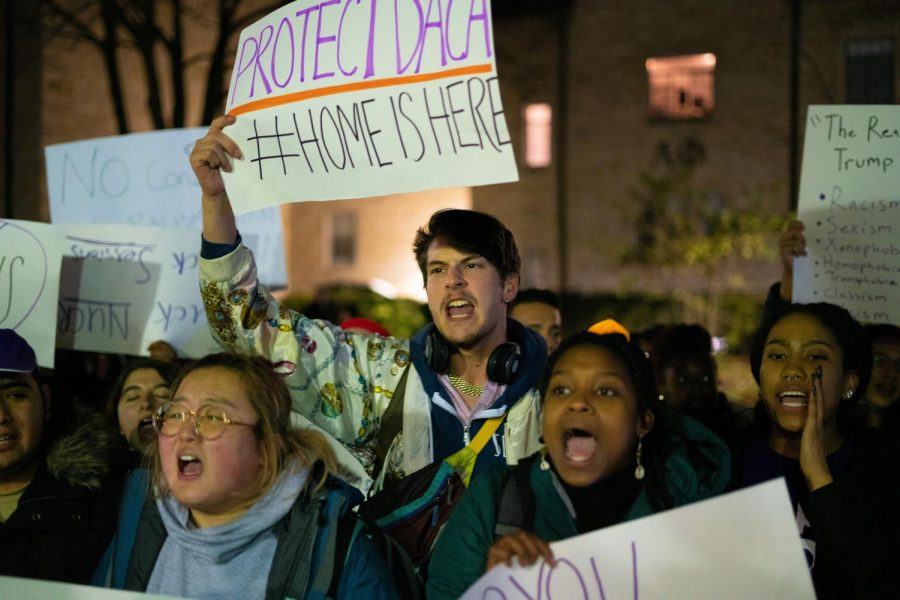 Northwesterns student-run newspaper made national headlines after it covered a student protest.