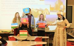 Cultural Exchange: Learning the Background of Visiting Students from Kyrgyzstan and Tunisia