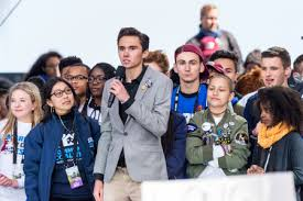 Parkland students at the March For Our Lives protest.