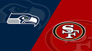 The Seahawks (left) and 49ers (right) have a historic rivalry.