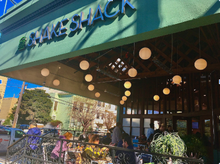 Exterior of San Francisco Shake Shack