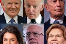 The remaining presidential candidates.