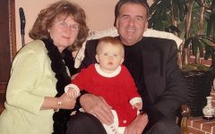My grandparents and me on December 24, 2004.