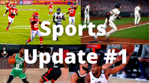 Sports Update for the Week of September 7