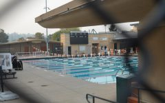 Pictured here is the swimming pool at WHS, where students participate in swimming and water polo activities.