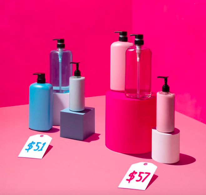 The products marketed to women are often times more expensive than the same products that are marketed to men.